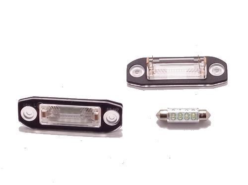 Led Lampki Oświetlenia Tablicy Rejestracyjnej Tył Z